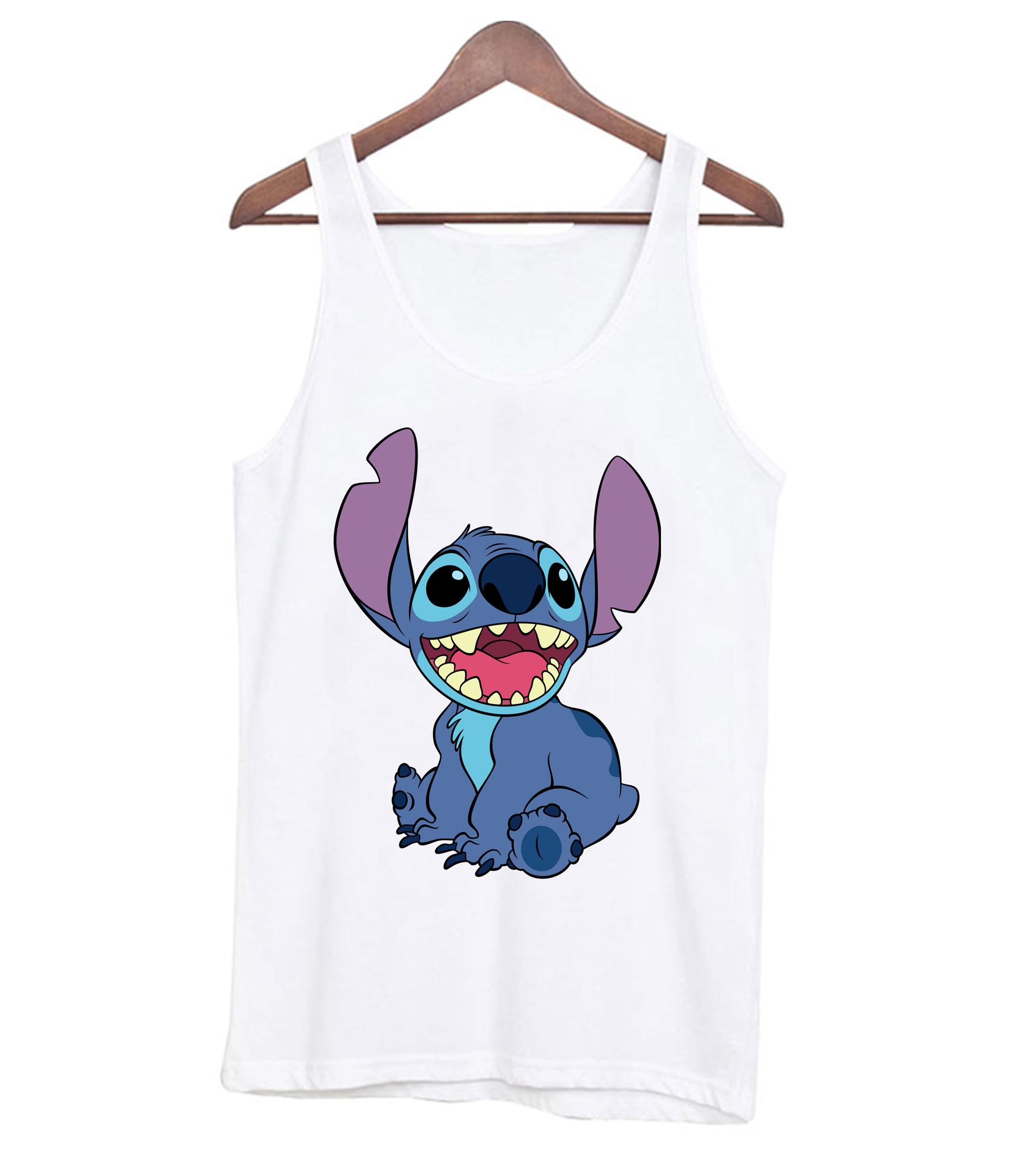 Stitch-White-Tank-top