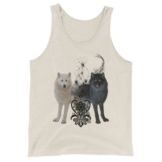 Black-and-white-wolf-TankTop