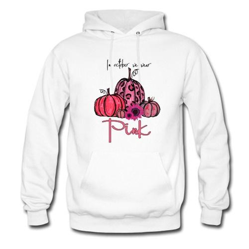 In-October-We-Wear-Pink-Pumpkin-Breast-Cancer-Hoodie