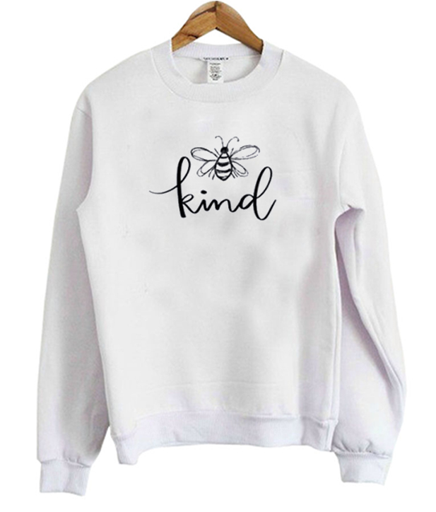 Bee-Kind-Sketch-Sweatshirt