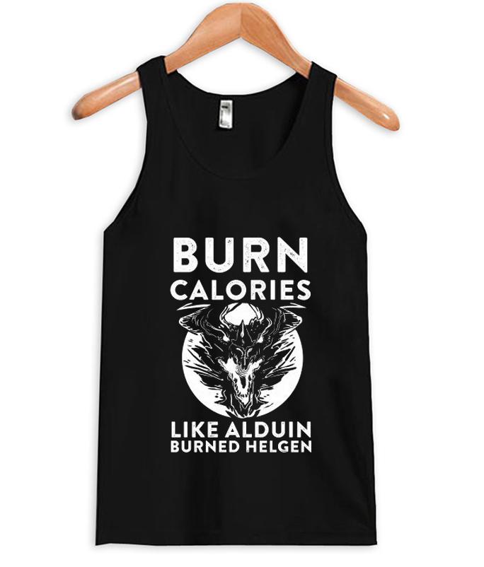 Burn-Calories-tank-top