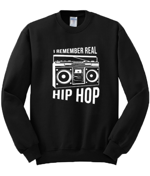 I-Remember-Real-Hip-Hop-Sweatshirt