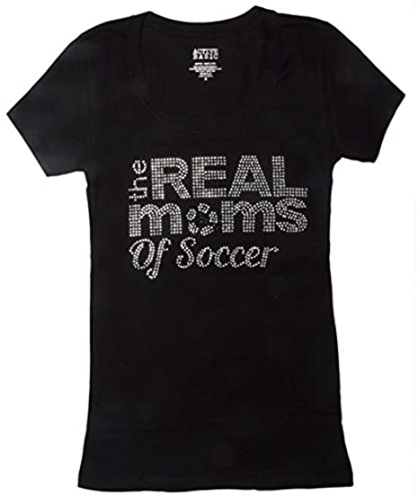 The-Real-Moms-Of-Soccer-Pixel-T-Shirt