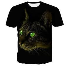 Green-Eyes-Cat-T-Shirt