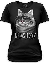 Meow-Is-Goin-Cat-T-Shirt